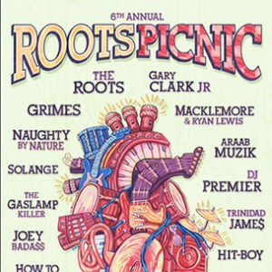 Naughty By Nature, Joey Bada$$ & Trinidad Jame$ To Perform At 6th Annual Roots Picnic