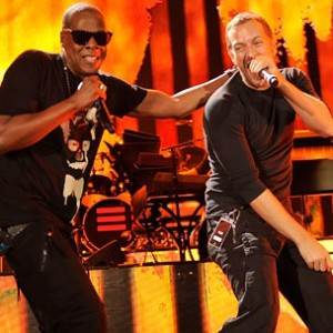 "Jay-Z f. Chris Martin [Coldplay] - ""Run This Town"""