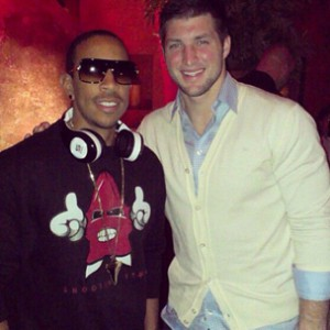 Ludacris Signs Headphone Deal With Quarterback Tim Tebow