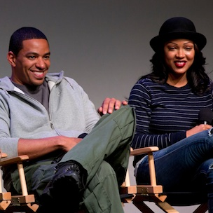 "Meagan Good Discusses ""Deception,"" Compares Aaliyah To Princess Diana"