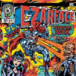"Inspectah Deck & 7L & Esoteric ""CZARFACE"" Tracklist & Cover Art"