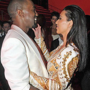 Kanye West & Kim Kardashian Celebrate The New Year In Las Vegas