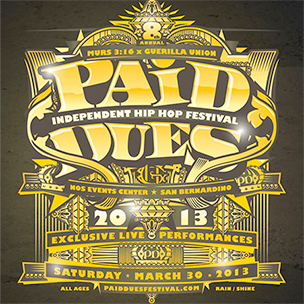 Murs Announces Full Lineup For Paid Dues 2013