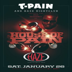 Win A VIP Trip To Vegas & Party With T-Pain At HAZE Nightclub