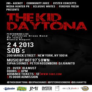 Kid Daytona Concert Ticket Giveaway