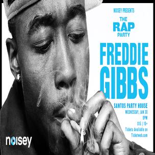 Freddie Gibbs Concert Ticket Giveaway