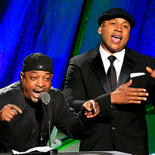 Chuck D, LL Cool J, Tom Morello, DJ Z-Trip & Travis Barker Tribute Beastie Boys At 2013 Grammy Awards
