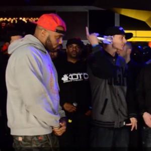 "Battle Rap: King Of The Dot - ""Blackout 3"" - Pat Stay Vs. Math Hoffa"