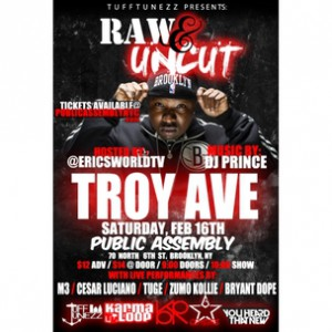 Troy Ave Concert Ticket Giveaway