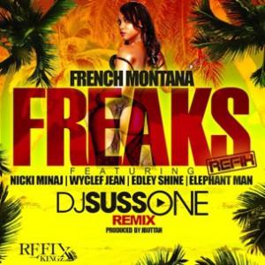 French Montana f. Nicki Minaj, Wyclef Jean, Edley Shine & Elephant Man - Freaks Remix
