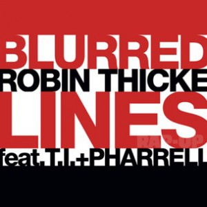 Robin Thicke f. T.I. & Pharrell - Blurred Lines