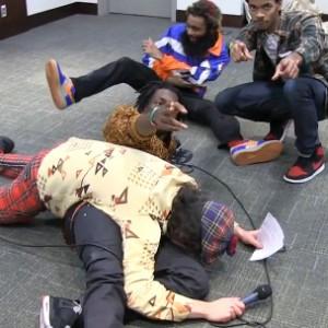 Flatbush Zombies - Nardwuar Interview