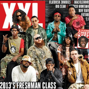 XXL's 2013 Freshman Cover Shoot - Behind the Scenes