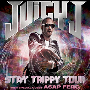 "Juicy J Announces ""Stay Trippy"" Tour Featuring A$AP Ferg"