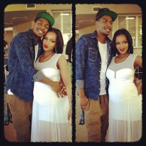 Lola Monroe & Los Release Photograph Of Newborn Son