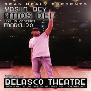 Mos Def Concert Ticket Giveaway