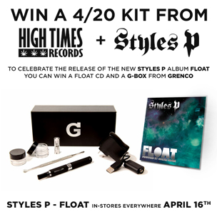 Styles P x High Times Records 4/20 Giveaway