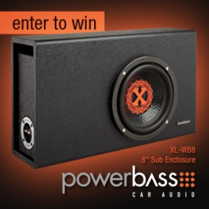 The Power-Play Giveaway: Win a New Bass Enclosure