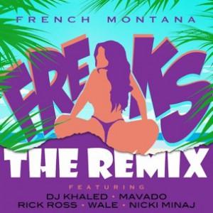 French Montana f. Nicki Minaj, Rick Ross, Wale, Mavado & DJ Khaled  - Freaks Remix