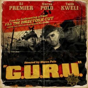 Marco Polo f. Talib Kweli & DJ Premier - G.U.R.U.