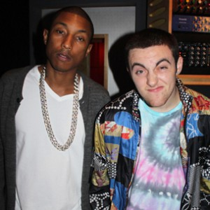 "Mac Miller Delays ""Pink Slime"" Project With Pharrell Williams"