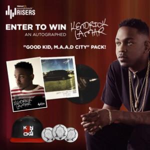 Kendrick Lamar x Walmart Risers Giveaway