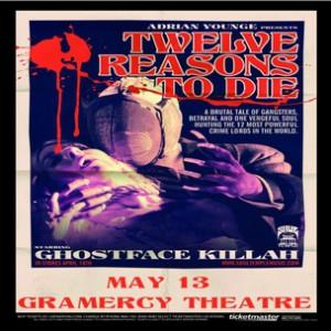 12 Reasons To Die Concert Ticket Giveaway
