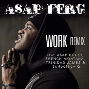"A$AP Ferg f. A$AP Rocky, French Montana, Trinidad James & Schoolboy Q - ""Work Remix"" (Behind The Scenes)"