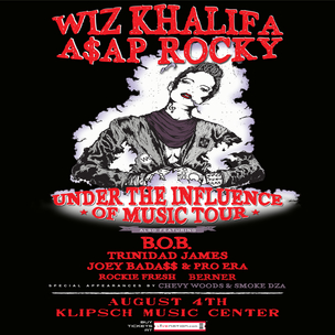 """Under the Influence of Music"" Tour Ticket Giveaway"