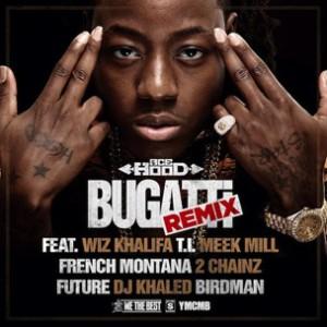 Ace Hood f. Wiz Khalifa, T.I., Meek Mill, French Montana, 2 Chainz, Future, Birdman & DJ Khaled - Bugatti Remix