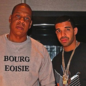 Jay-Z & Drake Photographed In The Studio Together