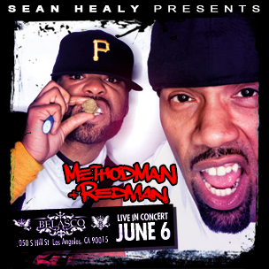 Method Man x Redman Concert Ticket Giveaway