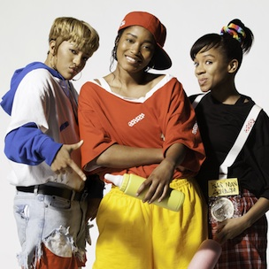 Photo Released Of Lil Mama, Keke Palmer & Drew Sidora From TLC Biopic