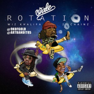 Wale f. 2 Chainz & Wiz Khalifa - Rotation