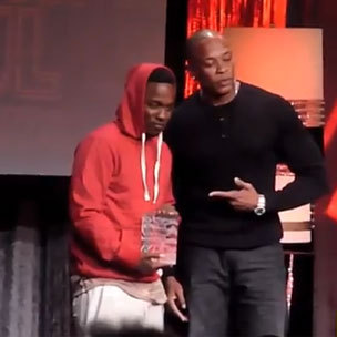 Dr. Dre Salutes Kendrick Lamar At ASCAP Awards