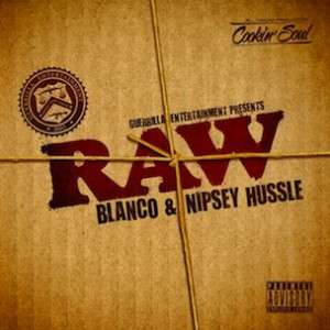"Nipsey Hussle & Blanco ""Raw"" Cover Art, Download & Album Stream"