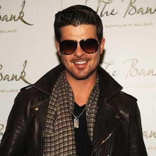 "Robin Thicke Says He Out-Sourced ""Blurred Lines"" Production After Low Sales"