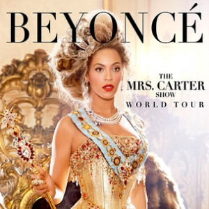 "Beyonce ""The Mrs. Carter Show World Tour"" Giveaway"