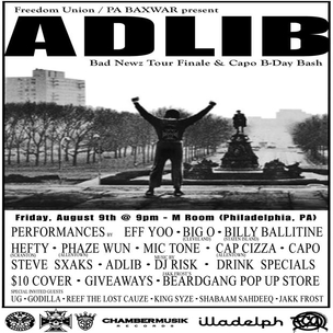 Adlib x Bad Newz Tour Ticket Giveaway