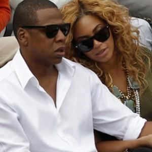"Jay-Z & Beyonce Appear At ""Magna Carta Holy Grail"" Celebration"