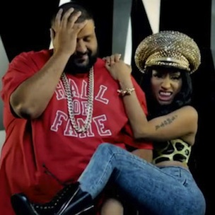 "Nicki Minaj Dismisses DJ Khaled's Proposal As ""Not Serious"""