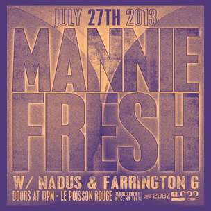 Mannie Fresh Concert Ticket Giveaway