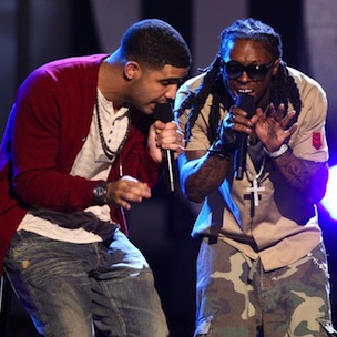"Drake Dispels YMCMB Tension, Calls Lil Wayne ""Best Rapper Alive"""