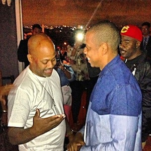Jay Z & Dame Dash Photographed Together For First Time In Years