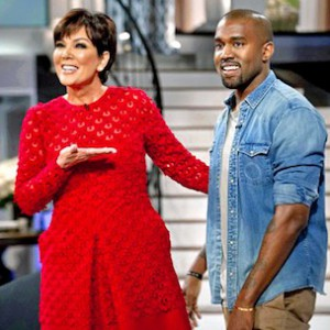 Kanye West To Discuss Kim Kardashian, North West On Kris Jenner's Talk Show
