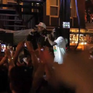 Wale, Chris Brown, YG & DJ Skee - Sunset Strip Music Festival Performance