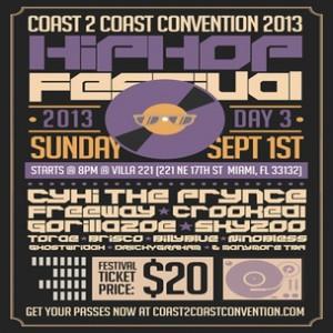Coast2Coast Convention Hip Hop Festival Giveaway
