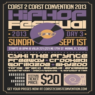 Coast2Coast Convention Hip Hop Festival Giveaway