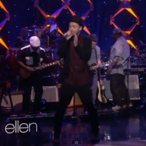 "Justin Timberlake - ""TKO"" (Live On The Ellen DeGeneres Show)"