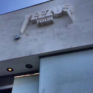"Kanye West ""Yeezus Tour"" Pop Up Shop Opens In Los Angeles"